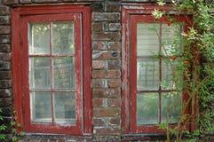 παλαιά Windows Στοκ φωτογραφίες με δικαίωμα ελεύθερης χρήσης