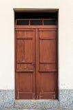 Παλαιές αγροτικές ξύλινες πόρτες Στοκ Φωτογραφία