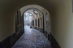 Παλαιές απόψεις Σλοβενία, Λουμπλιάνα πόλεων Στοκ Φωτογραφίες