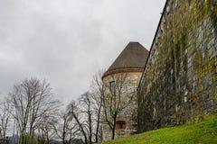 Παλαιές απόψεις Σλοβενία, Λουμπλιάνα πόλεων Στοκ φωτογραφίες με δικαίωμα ελεύθερης χρήσης