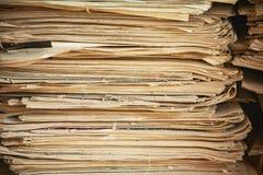 Παλαιές εφημερίδες Στοκ φωτογραφία με δικαίωμα ελεύθερης χρήσης