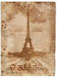 Παλαιές ημέρες στο Παρίσι στοκ εικόνες με δικαίωμα ελεύθερης χρήσης