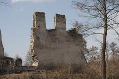 Παλαιές καταστροφές κάστρων πετρών Στοκ εικόνες με δικαίωμα ελεύθερης χρήσης
