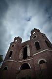 παλαιές καταστροφές κάστ& Στοκ φωτογραφίες με δικαίωμα ελεύθερης χρήσης