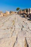 Παλαιές καταστροφές σε Pamukkale Τουρκία Στοκ Εικόνα