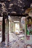 παλαιές καταστροφές σπιτιών αστικές Στοκ Φωτογραφίες