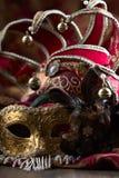 Παλαιές μάσκες καρναβαλιού Στοκ εικόνα με δικαίωμα ελεύθερης χρήσης