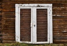 Παλαιές ξεπερασμένες καφετιές πόρτες στοκ φωτογραφία με δικαίωμα ελεύθερης χρήσης