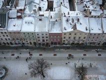 παλαιές στέγες s πόλεων Στοκ Εικόνες