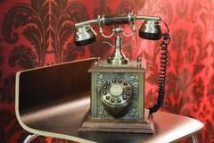παλαιές τηλεφωνικές στάσ&e Στοκ Εικόνες