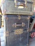 2 παλαιοί κορμοί ατμοπλοίων - μεγάλοι αντέξτε την ιστορική κοινωνία στοκ εικόνες