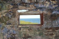 Παλαιοί τοίχος και παράθυρο Στοκ φωτογραφίες με δικαίωμα ελεύθερης χρήσης