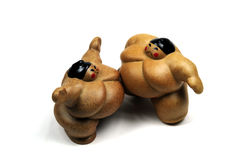 παλαιστές sumo αγώνα Στοκ Εικόνες