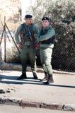 παλαιστινιακή αστυνομία  Στοκ φωτογραφία με δικαίωμα ελεύθερης χρήσης