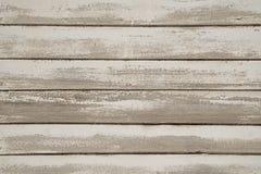 Παλαιός άσπρος χρωματισμένος ξύλινος τοίχος στοκ φωτογραφίες με δικαίωμα ελεύθερης χρήσης