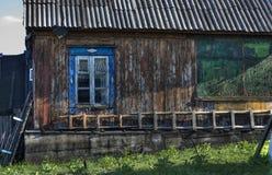 παλαιός αγροτικός οικο& Στοκ Φωτογραφίες