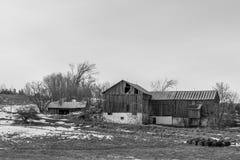 παλαιός αγροτικός σιταποθηκών στοκ φωτογραφίες με δικαίωμα ελεύθερης χρήσης