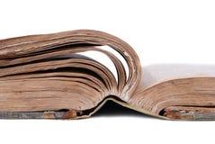 παλαιός ανοικτός βιβλίων στοκ φωτογραφίες
