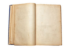 παλαιός ανοικτός βιβλίων Στοκ Εικόνες