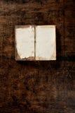 παλαιός ανοικτός πίνακας βιβλίων Στοκ εικόνες με δικαίωμα ελεύθερης χρήσης