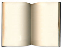 παλαιός ανοικτός τρύγος βιβλίων Στοκ Εικόνες