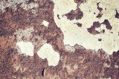 Παλαιός βρώμικος τοίχος, υπόβαθρο ή ταπετσαρία αργίλου Στοκ Εικόνες