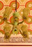Παλαιός παλαιός διακοσμητικός λαμπτήρας που τίθεται στο παλάτι της Βαγκαλόρη στοκ φωτογραφίες