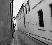 παλαιός διπλανός δρόμος Στοκ Εικόνες