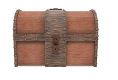Παλαιός εκλεκτής ποιότητας ξύλινος κορμός με τα οξυδωμένα στοιχεία μετάλλων δίνοντας απεικόνιση που απομονώνεται τρισδιάστατη ελεύθερη απεικόνιση δικαιώματος