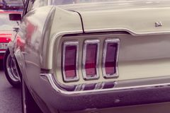 Παλαιός εμείς αυτοκίνητο στοκ εικόνα