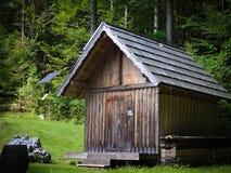 παλαιός ηλιακός σπιτιών συστοιχίας Στοκ εικόνα με δικαίωμα ελεύθερης χρήσης