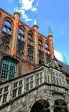 Παλαιός ιστορικός Architektur Στοκ φωτογραφία με δικαίωμα ελεύθερης χρήσης