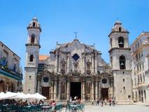 Παλαιός καθεδρικός ναός στην Αβάνα, Κούβα Στοκ Εικόνα
