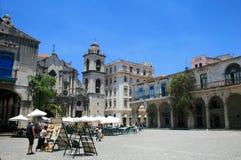 Παλαιός καθεδρικός ναός της Αβάνας, Κούβα Στοκ Εικόνες