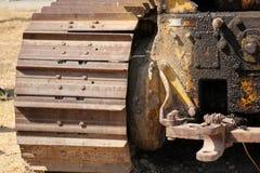 Παλαιός και σκουριασμένος σίδηρος Στοκ εικόνα με δικαίωμα ελεύθερης χρήσης