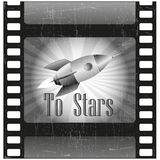 Παλαιός κινηματογράφος Στοκ εικόνα με δικαίωμα ελεύθερης χρήσης