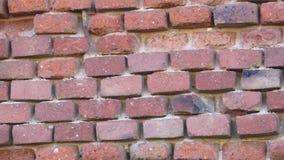 παλαιός κόκκινος τοίχος τούβλου τούβλο τοίχος παλαιός κόκκινος τοίχος τούβλου απόθεμα βίντεο