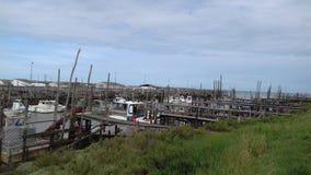 Παλαιός λίγο λιμάνι Στοκ Εικόνες