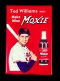 Παλαιός μαγνήτης διαφήμισης Moxie μόδας στοκ φωτογραφίες