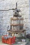Παλαιός μηχανικός Τύπος στοκ φωτογραφίες