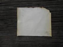 Παλαιός μμένος τρύγος εγγράφου Στοκ φωτογραφίες με δικαίωμα ελεύθερης χρήσης