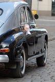 παλαιός μοντέρνος γάμος αυτοκινήτων Στοκ Εικόνες