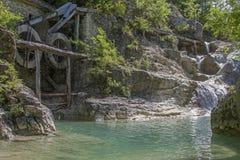 Παλαιός μύλος κοντά στον ποταμό Mirna στην Κροατία στοκ εικόνες με δικαίωμα ελεύθερης χρήσης