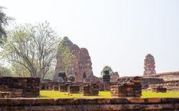 Παλαιός ναός αρχαίου στο ayutthaya Στοκ εικόνα με δικαίωμα ελεύθερης χρήσης