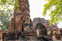 Παλαιός ναός αρχαίου στο ayutthaya Στοκ φωτογραφίες με δικαίωμα ελεύθερης χρήσης