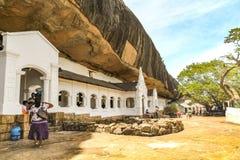 Παλαιός ναός σε Anuradhapura στη Σρι Λάνκα Στοκ εικόνα με δικαίωμα ελεύθερης χρήσης