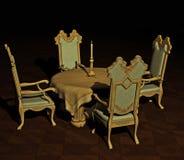 παλαιός να δειπνήσει πίνακ διανυσματική απεικόνιση