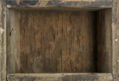 παλαιός ξύλινος κιβωτίων Στοκ Φωτογραφίες