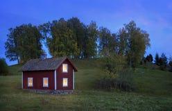 παλαιός ξύλινος σπιτιών Στοκ εικόνα με δικαίωμα ελεύθερης χρήσης
