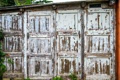 Παλαιός ξύλινος τοίχος αποφλοίωσης Στοκ φωτογραφία με δικαίωμα ελεύθερης χρήσης